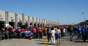 Lowes Motor Speedway Garge Are Stock Photo