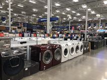 Lowes Home Improvement Store. Lowes is a U.S.-based chain of retail home improvement and appliance stores. This store is located in Gilbert Arizona royalty free stock image