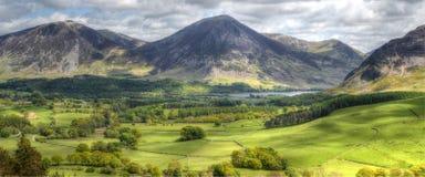 Loweswater en Cumbria Imagen de archivo libre de regalías