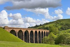 Lowgill viaduct Stock Image