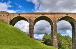 Lowgill viaduct detail Royalty Free Stock Image
