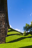 Lowgill viaduct & shadows Stock Images