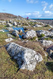 Lowland point near coverack Royalty Free Stock Photos