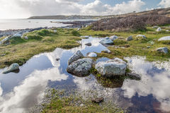 Lowland point near coverack Royalty Free Stock Photography