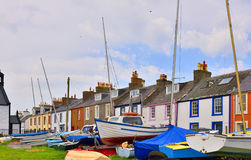 Lowland seaside village Royalty Free Stock Photo