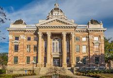 Lowndes County Courthouse in Valdosta, Georgia Royalty Free Stock Photo