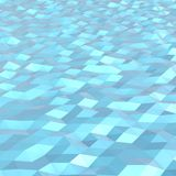 Lowpoly Water Royalty Free Stock Images