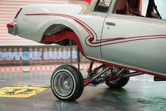 Lowrider Samochodowa wystawa w Londyn zdjęcia stock
