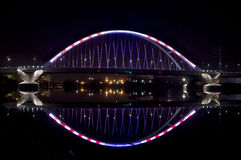 Lowry大道桥梁 免版税库存照片