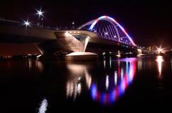 Lowry-Alleen-Brücke in Minneapolis Lizenzfreie Stockfotos