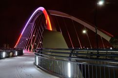 Lowry-Alleen-Brücke in Minneapolis Stockfotos