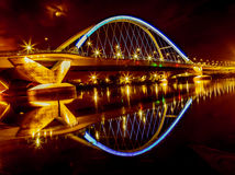 Lowry Avenue Bridge in Minneapolis Stock Images