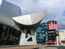 Lowry-Piazza, Salford-Kais, Manchester stockbilder