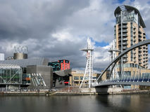 Lowry, Salford Quays, Machester obrazy royalty free