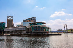 The Lowry at Salford Quays, Manchester UK. Stock Images