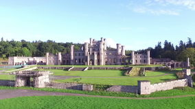 Lowther Castle stock footage