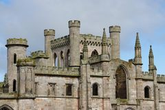 Lowther slott royaltyfria bilder