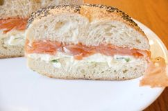 Lox Bagel Stock Images