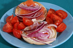 Lox and Bagels Sandwich Stock Images