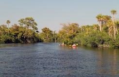 Loxahatchee Kayaking Stock Photos