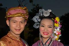 loy节日的krathong 免版税图库摄影