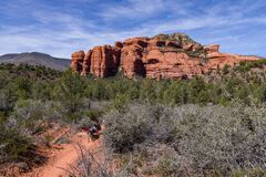 Loy Canyon Trail Royalty Free Stock Photo