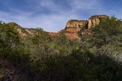 Loy Canyon Trail Royalty Free Stock Photography