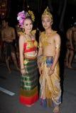 loy festivalkrathong Arkivfoto