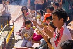 loy festivalkrathong Arkivbild