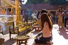 loy festivalkrathong Royaltyfri Fotografi