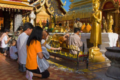loy festivalkrathong Royaltyfri Foto