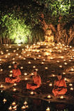 Loy Krathong节日在Chiangmai 免版税库存图片
