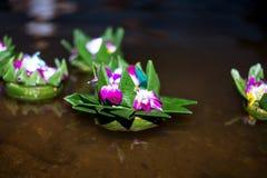 Loy Krathong, Таиланд стоковые изображения rf