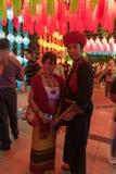 Loy Krathong Festival Lizenzfreie Stockfotografie