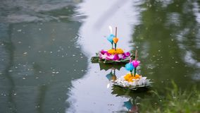 Free Loy Krathong Festival Stock Photography - 132389632
