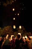 Loy Krathong festival Stock Images