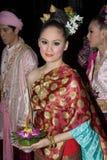 Loy Krathong festival Royalty Free Stock Photo