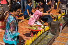 Loy Krathong festival Royalty Free Stock Photo