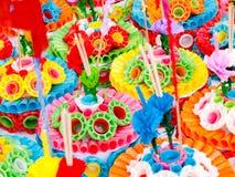 Loy Krathong Festival Royalty-vrije Stock Afbeeldingen
