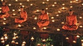 Loy Krathong festival i Chiangmai Arkivfoton