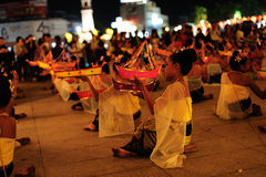 Loy Krathong Festival 2011 Stock Photo