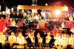 Loy Krathong Festival 2011 stock images