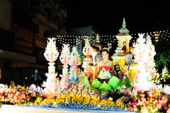 Loy Krathong Festival 2011 royalty free stock images