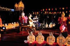 Loy Krathong Festival 2011 stock photography