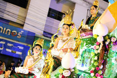 Loy Krathong Festival 2011 Royalty Free Stock Photography