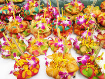 Loy Krathong-Festival, thailändisch Lizenzfreies Stockfoto