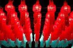 Loy Krathong Lantern Festival in Chiang Mai Fotografie Stock