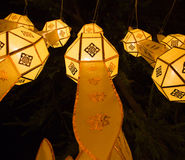 Loy Krathong Lantern Festival in Chiang Mai Immagine Stock Libera da Diritti