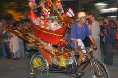 Loy Krathong parade Stock Photo