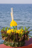 Loy Krathong , Thailand . Stock Images